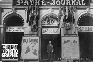 Pathé Journal futur Max Linder 08 1914