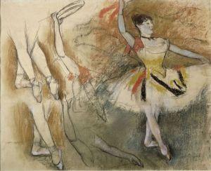 Degas Danseuse espagnole