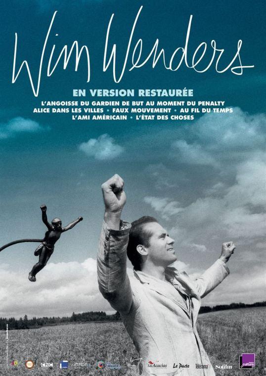 Une sélection de six des premiers long-métrages de Wim Wenders en version restaurée Sortie le 14 mars par Les Acacias