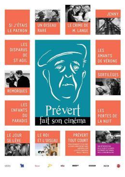 12 long-métrages et un programme de 5 court-métrages liés à Jacques Prévert. À partir du 21 février par Tamasa Distribution