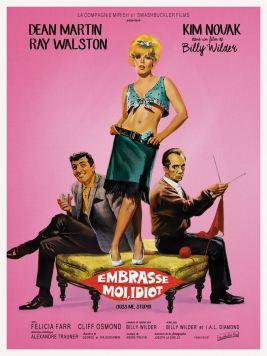 Un film de Billy Wilder Avec Dean Martin, Kim Novak et Ray Walston Sortie le 14 mars par Swashbuckler Films