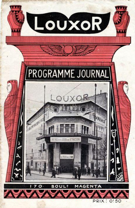 Programme ©Les Amis du Louxor