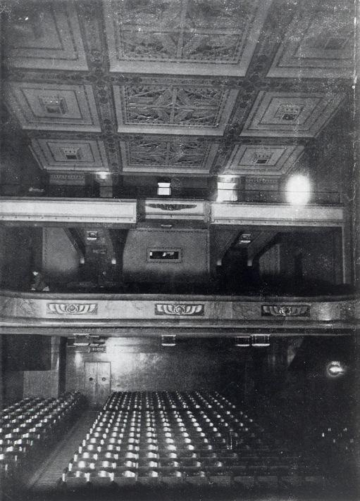 La salle du Louxor en 1922 ©Les Amis du Louxor