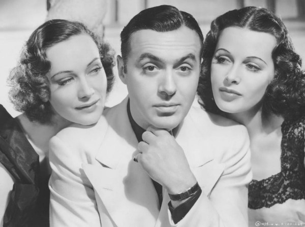 Sigrid Gurie, Charles Boyer and Hedy Lamarr in Algiers directed by JohnCromwell, 1938