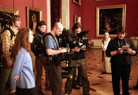 l'arche russe tournage